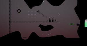 Screenshot of an easy level