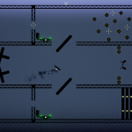 Screenshot of a hard level