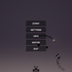 Screenshot of the main menu