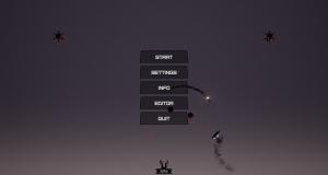 Screenshot of the main menu